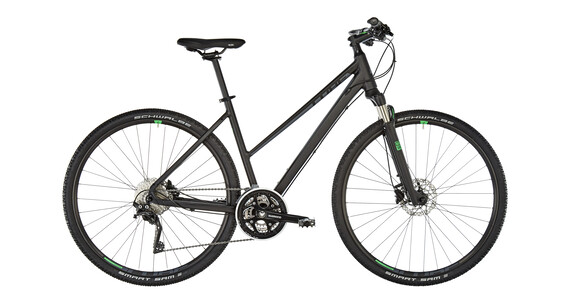 Cube Cross Hybrid Bike Trapez black